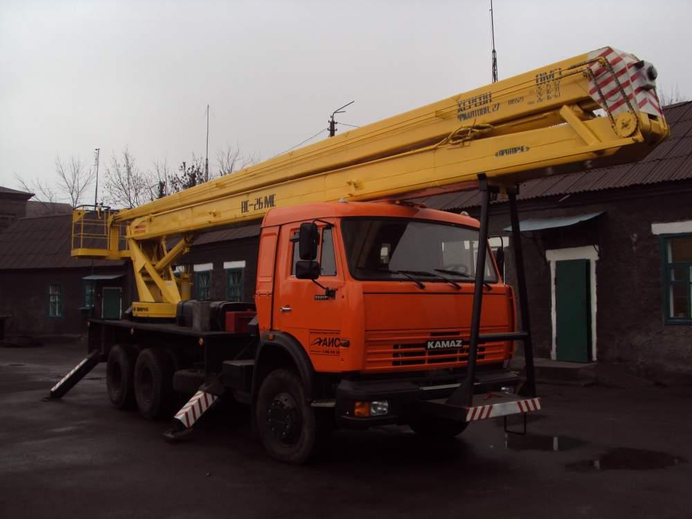 Автовышка КамАЗ-53213 ВС-28К